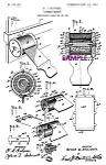 Patent Art: 1900s Barber Shop Razor Strop - 8x10