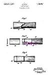Patent Art: 1930s American Safety Razor Shaving Brush