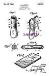 Patent Art: 1920s Travel Shaving Brush Design - Matted