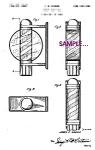 Patent Art: 1940s Barber Shop Beauty Shop Sign - 8x10