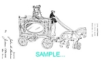 Patent: 1920s Hubley Circus Wagon Toy B