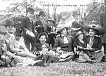 C.1910 Midget Party Photo 5 X 7 - Side Show