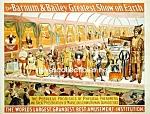 C.1898 Barnum Bailey Circus Curiosities - Side Show