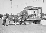 C.1909 Society Circus Chas. Doelger Lion Cage - Photo