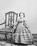 C.1860 Miss Lavinia Warren Midget-sideshow-circus-photo