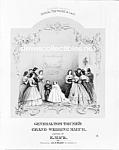 C.1863 Gen. Tom Thumb Wedding Midget-circus-photo