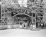 C.1920 Coaster Dips - Glen Echo, Maryland Photo-8 X 10