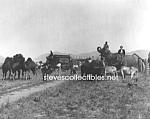 C.1910 Campbells Circus At Plains, Montana - Photo