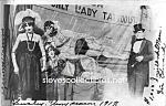 C.1917 Tattooed Lady Side Show - Photo