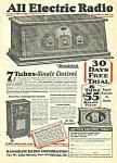 1927 Randolph 7 Tube Radio Magazine Ad