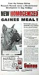 1952 Boxer Dog Image Magazine Ad