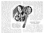 1926 Topsy Ukulele Black Americana Mag. Article