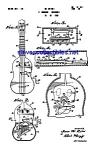 Patent Art: 1960s Mattel Toy Uke Ukulele Instrument