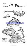 Patent Art: 1880s Lyon And Healy Mandolin