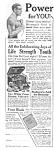 1918 Lindstrom Electric Vibrator Quack Ad