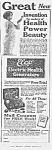 1923 Elco Electric Vibrator Quack Ad