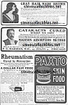 1904 Page Of Quack Medicine Ads
