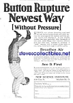 1927 Magic Dot Rupture Quack Cure Ad