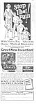 1927 Lindstrom Electric Vibrator Quack Ad