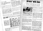 1967 Driving With Dan Gurney Auto Racing Mag. Article