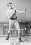C.1893 Boxing Champion: James J. Corbett Photo