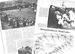 1949 Steeplechase Horse Racing Mag. Article