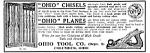 1913 Ohio Wood Planes & Chisels Mag. Ad