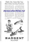 1926 Sargent Wood Plane-tool Ad L@@k