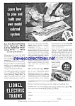 1933 Lionel Train Toy Ad
