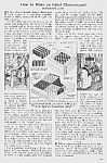 1922 Inlaid Checkerboard To Build Mag Article