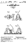 Patent Art: Nosey Pup #445 Fisher Price Toy-matted