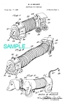 Patent Art: 1950s Slinky Train Toy - Matted
