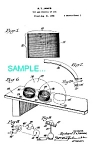 Patent Art: 1940s Slinky Toy - Matted