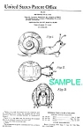 Patent Art: Slinky Snail Toy - Matted