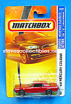 1968 Mercury Cougar Matchbox Toy Moc