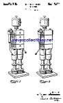 Patent Art: 1940s American Viscose Robot - Mech. Man