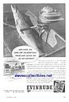 1944 Evinrude Boat Motor Mag. Ad