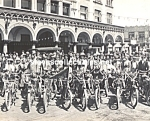 C.1910 Motorcycle Club At Venice, Calif. Photo B - 8x10