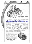 1914 Vitalic Bicycle And Motorcycle Tires Ad