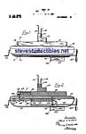 Patent Art: 1920s A.c. Gilbert Toy Submarine