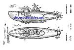 Patent Art: 1950s Toy Submarine - Matted