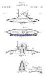 Patent Art: 1920s Toy Submarine - Matted