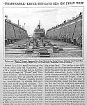 1927 Malolo Ocean Liner Mag Article