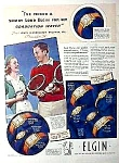 1939 Ny Worlds Fair Elgin Watch Ad Cool