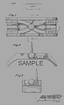 Patent Art: 1939 Art Deco Ny Worlds Fair Ashtray