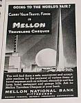 1939 Worlds Fair Mellon National Bank Ad