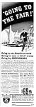 1939 Ny Worlds Fair Greyhound Bus Magazine Ad