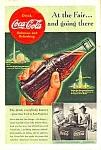 1939 Worlds Fair/coca Cola/golden Gate Expo Ad