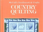 Mccall's Needlework & Crafts Country Quilting
