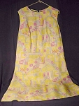Vintage Womens Size Shift Dress Spring Summer Colors